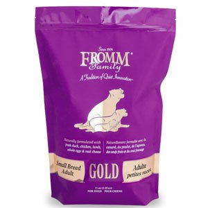 - Fromm Gold Small Breed Adult Dog Food (15 lb)