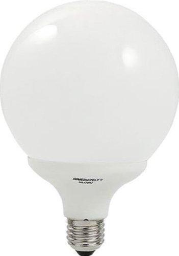 LAMPADA FLUORESCENTE GLOBO Attacco E27 25W Luce Fredda COMPACT10000 BEGHELLI