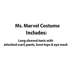 - 31U8JIyylSL - Marvel Rising: Secret Warriors Ms. Marvel Costume, Small
