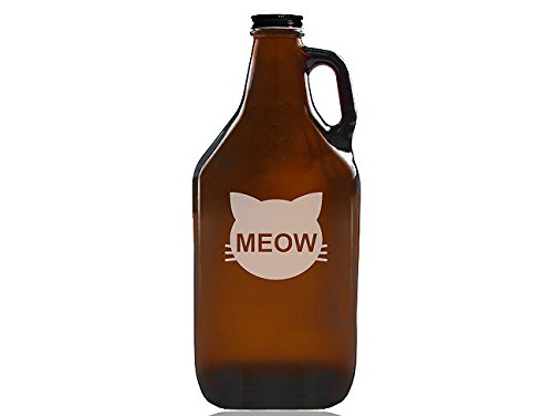 Chloe and Madison ''Cats Meow'' Beer Amber Growler