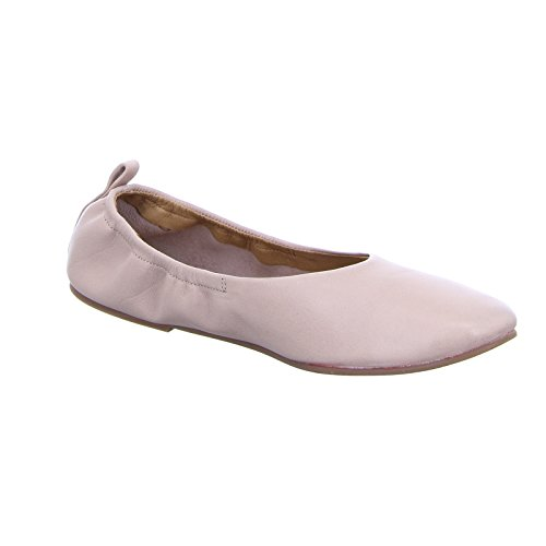 BOXX 81.221 Damen Ballerina Slipper Schlupf Leder Rosa (osis)