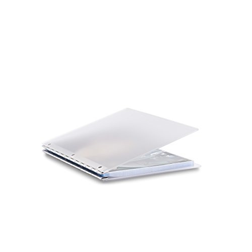 (Pina Zangaro Vista A4 Portriat Screwpost Binder Mist, Includes 20 Pro-Archive Sheet Protectors (34084))