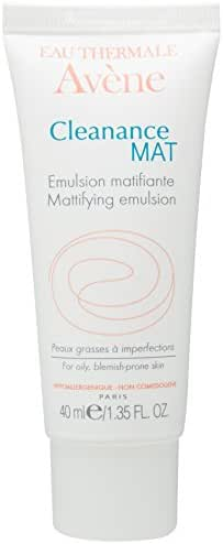 Eau Thermale Avene Cleanance MAT Mattifying Emulsion Moisturizer, 1.35 Fl Oz