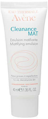 Eau Thermale Avene Cleanance MAT Mattifying Emulsion Lightweight Oil-Free Moisturizer for Acne Prone Skin, 1.35 oz. ()