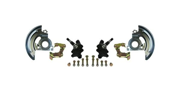Right Stuff Detailing AFXMD4 Mini Disc Brake Conversion Kit with Factory Style 2 Drop