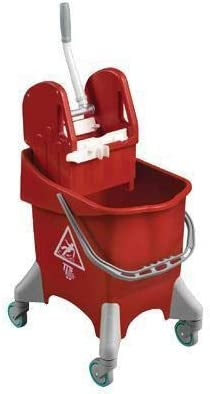 TTS 30 L Red Bucket With Wringer