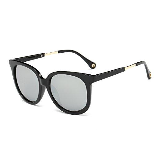 Classic Wayfarer Flash Mirrored Lenses Sunglasses for Men and Women - Costco Sunglasses Men