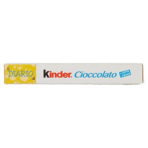Diario kinder cioccolato