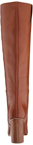 Leather High West Nine Women's Natural Dark Knee Boot Christie 8ZUqI