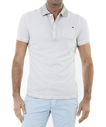 Jet Lag Washed Polo Pique-L ()