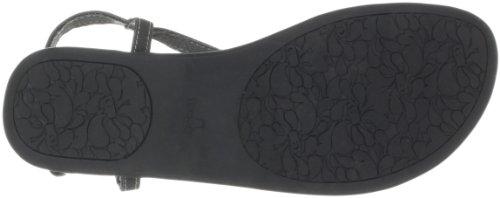 Girlie Sandals Flop Black Flip Cha Cha Sanuk Women's wq7xF6xU