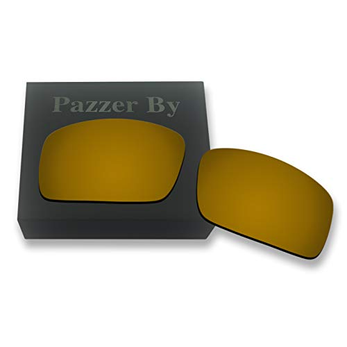 (Polarized Replacement Lenses for Oakley Oil Drum - Bronze Gold Mirrored Coating)