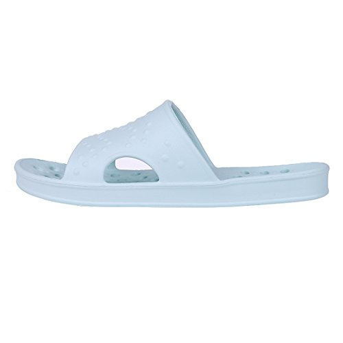ecec4aea40c2 Shower Sandal Slippers Quick Drying Bathroom Slippers Gym Slippers Soft  Sole Open Toe House Slippers LB