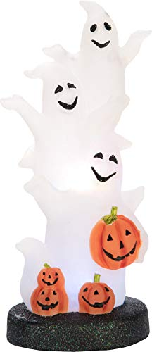 Transpac Imports, Inc. Light up Ghost Pumpkin Spooky