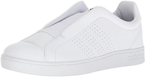 adidas Women's Advantage Adapt W, White/White/Collegiate Navy, 5.5 M US