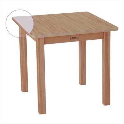 Jonti-Craft 57216JC Multi-Purpose Square Table, 16'' High, Maple by Jonti-Craft