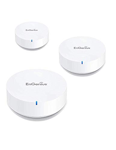 EnGenius Enmesh Whole-Home Smart Wi-Fi System, AC1300 Dual-Band (ESR530) (3-Pack) (Engenius Wireless Repeater)