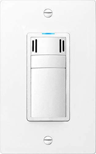 DewStop FS-300-W1 Adjustable Fan Humidity Control Switch with Adjustable Timer (White)