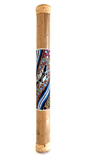 Sound Percussion Sticks (Rainstick Bamboo Rain Stick Percussion Shaker Instrument, Nice Sound Hand Painted-24