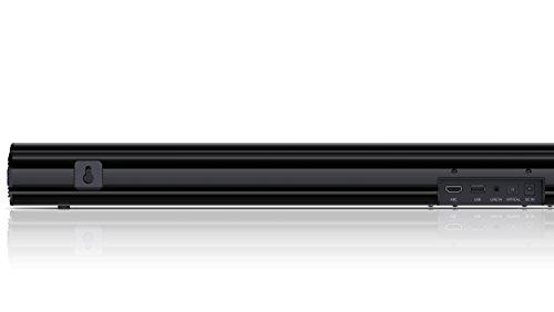 """31U8cSigdUL Haz clic aquí para comprobar si este producto es compatible con tu modelo Potente Bluetooth Mini Soundbar System: experiencia de entretenimiento para juegos o cine en casa con su TV; ideal para televisores y monitores pequeños con una diagonal de pantalla de 32"""" o superior Perfecto para la sala de estar, la cocina, el comedor o incluso el dormitorio; se adapta a la pantalla de la mayoría de los televisores y monitores gracias a su perfil bajo y delgado (6 cm);"""