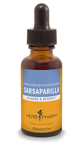 Herb Pharm Sarsaparilla Liquid Extract for Cleansing and Detoxification – 1 Ounce For Sale