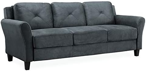 Hawthorne Collections Sofa in Dark Gray