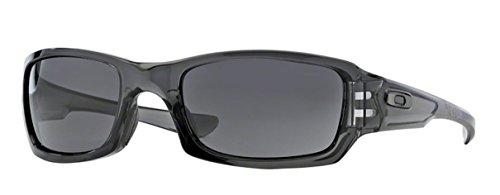 Oakley Fives Squared Oo9238 Sunglasses - Warm Gray Lens Gray Smoke (05) - 54mm