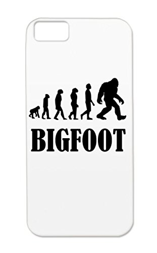 Bigfoot Evolution Black TPU Sasquatch Evolution Humor Silhouette Funny Bigfoot Funny Miscellaneous Of Drop Resistant For Iphone 5c Case Cover