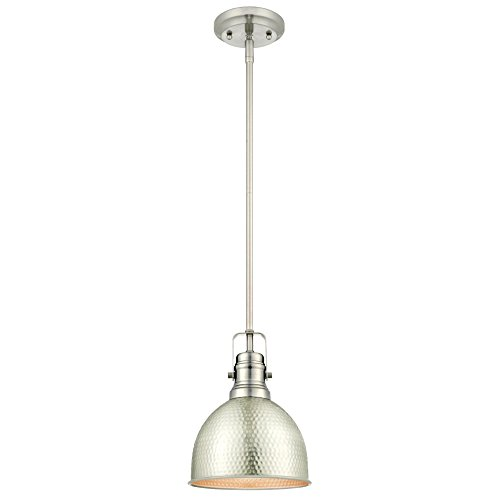 Brushed Nickel Island Pendant Lighting - 9