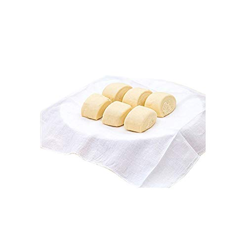 Lautechco 4Pcs Reusable Natural Pure Cotton Bamboo Steamer Cloth Best Quality Fabric Round Steamers Rack Gauze Pad