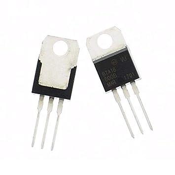 XOXO BTA16-600B 600V 16A Triac (Pack of 2)
