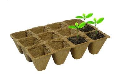 108 Fibre Plant Pots 5cm Garland