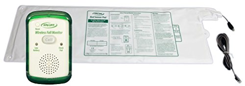 - Smart Caregiver® Bed Alert System for Fall or Wandering Prevention - Includes Monitor with 10in x 30in Bed Sensor Pad