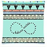Custom Aztec Classic Pattern Background Rectangle Pillow Case 18 x 18 Inch cloth simulation Zippered Pillow Cover - Lljpcovers One side Print (Pillow Monogrammed Bolster)