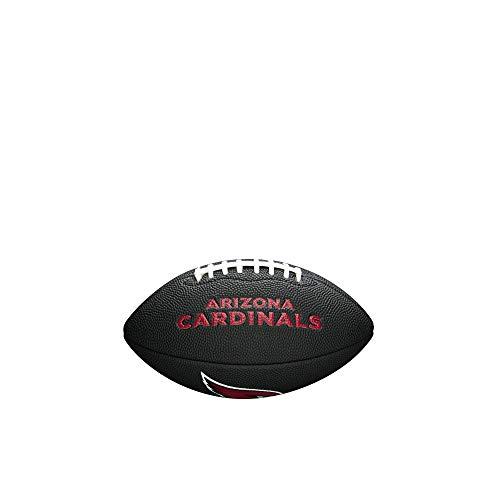 NFL Team Logo Mini Football, Black - Arizona Cardinals