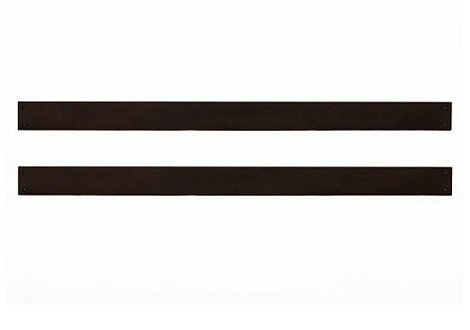 Baby Cache Tahoe Crib Queen Size Conversion Kit Bed Rails - Espresso by Baby Cache