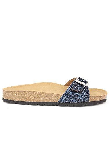 GRUNLAND - Sandalias de vestir para mujer Azul azul Azul
