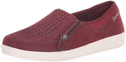 M Street Smart SneakerBurgundy6 Ave Us Women's Madison Skechers QxeorWdECB