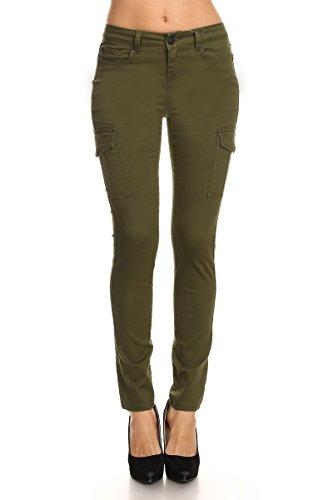 Zip Pocket Cargo Jeans - 9