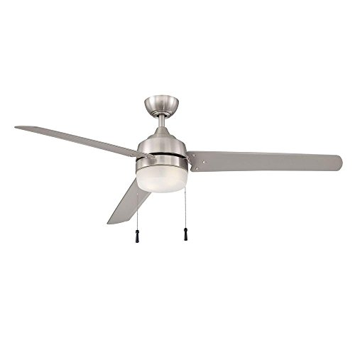 Home Decorators Collection Carrington 60 in. Brushed Nickel Ceiling Fan