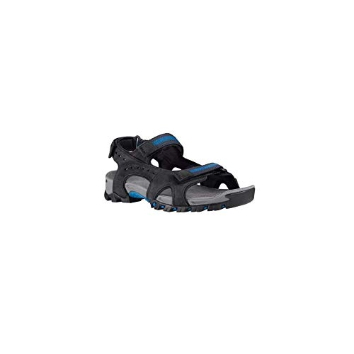 Timberland Men's Wakeby Black Leather Sandals Size 8 - Timberland Sandals Fisherman