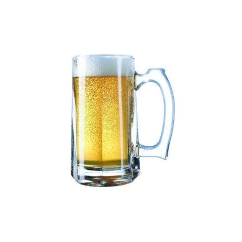 Personalized 16 oz. Custom Beer Mug Engraved with Your Custom Text