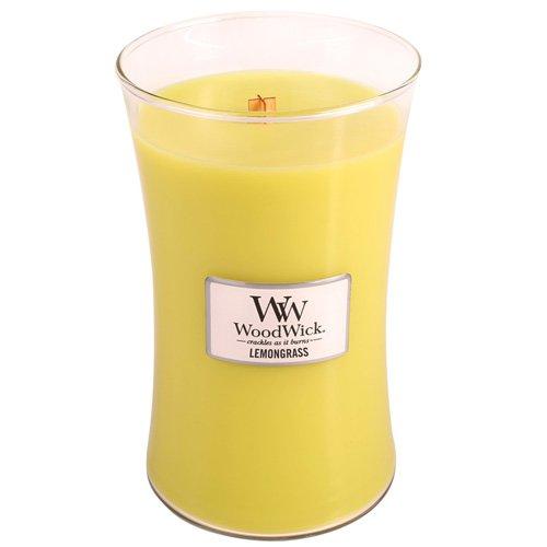 WoodWick 98114 - Limoncillo Vela aromática en tarro pequeña color Amarillo Virginia Candle Company