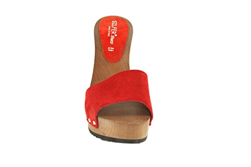 One Women's Clogs Size Shoes Silfer Red SgAUnR