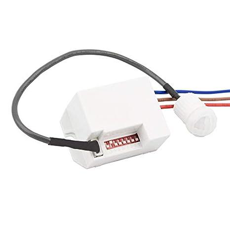 Detector de Movimiento PIR 120º Mini efectoLED