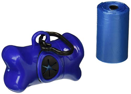 A Pet Hub 1000 Pet Dog Waste Poop Bags with Free Leash Bone Dispenser