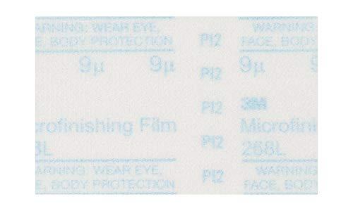 3M Microfinishing PSA Film Disc 268L, 12 in x NH, 15 Micron, Type D, Die 1200B