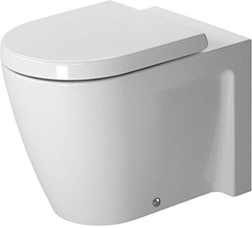 (Duravit 2128090092 Toilet Bowl Floor Standing Starck 2)