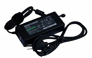 Sony VAIO VGN-FZ240N/B Laptop Replacement AC Power Adapter (Includes Free Carrying Bag) - Lifetime Warranty
