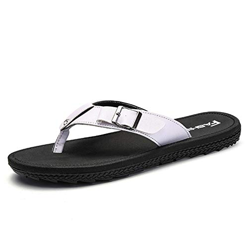La Zapatos 3 Wangcui De Verano De EU Blanco tamaño De Color Playa 41 Impermeables Blanco Hombres Los 1 Chancletas RrXXqaz
